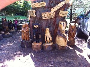 TRADE YOUR 4X4 ATV FOR MY CHAINSAW CARVINGS! Peterborough Peterborough Area image 5