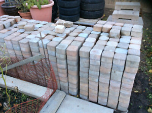 About1500 patio pinkish patio stones cheap