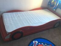 Single car bed and mattress 60 quid or near offers