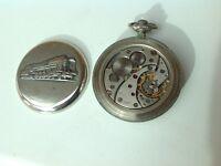 Molina russian18jewel pocket watch.