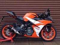 KTM RC 125 ABS 2018 SuperSport Only 2412miles. Nationwide Delivery Available.