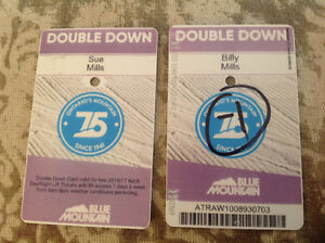 Blue Mountain Collingwood Double Down Ski Passes
