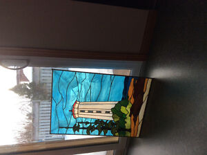 Beautiful Stained Glass  Lighthouse Peterborough Peterborough Area image 1