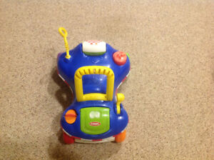 Playskool 2 in 1 car + walker new condition
