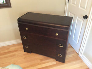 Beautifully refinished antique dresser