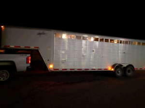 Trailering services primary but not limited to horses