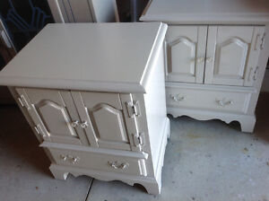 Antique Maple Dressers, Night tables and Mirror London Ontario image 2