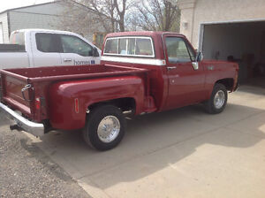 For sale, restored 1976 GMC short box step side