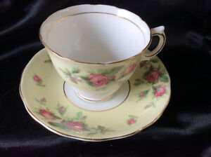 Vintage China: 2 Cup and Saucer sets