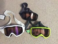 Ski goggles - assorted adults and kids