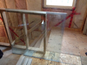 Tempered glass panels
