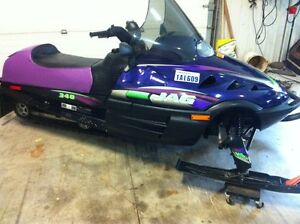 2 arctic cat sleds 1-340 2-440 both low miles and mint London Ontario image 2