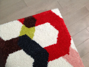 Grand Tapis Multicolore - neuf !