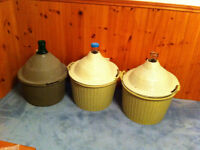 Wine making  - 1 car boy and supplies (2 carboys sold)