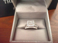 2 CARAT WHITE GOLD DIAMOND RING *****  BEST OFFER