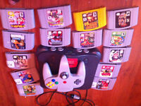 N64 Games Sale:Selling games Like Conker's bad fur Day