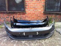 Vw golf mk7 2013 2014 2015 genuine front bumper for sale no grilles