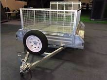 NEW YEAR SALE! LICENSED FULLY GALVANIZED RAMP 8x5 BOX TRAILER Wetherill Park Fairfield Area Preview