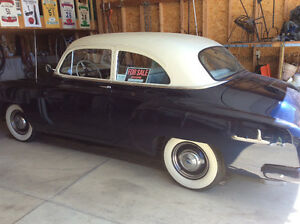 Classic 2 door 1951 Chev Sedan
