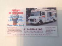 Delicious ice cream truck