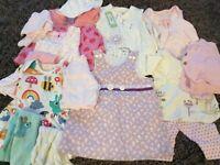 Baby girl dress bundle 0-3 months