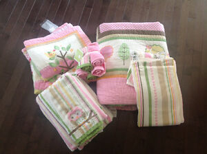 Circo Double Quilt Set, incl. sheets and matching towels