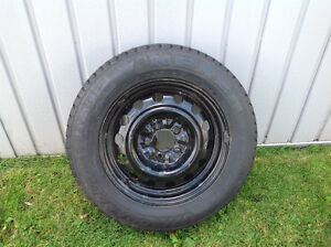4 15 inch snow tires with rims