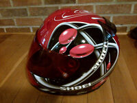 Mens Shoei Snell Approved Motorcycle Helmet