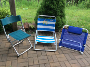 Outdoor/Beach Chairs (Still Available)