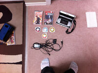 PSP, case, charger, 7 games
