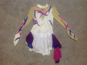 Figure skating gymnastics outfit