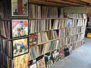"""LPs, 12"""" singles and 45s for sale: 20,000 items"""