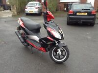14 reg pulse light speed 2 125cc not 50cc scooter/moped