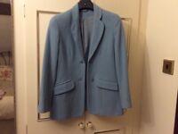 A Ladies Light Blue Jacket