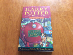 Harry Potter philosophers stone first addition paperback (rare)