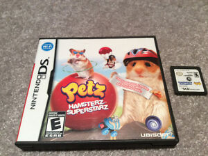 Nintendo DS - Petz Hamsterz Superstarz Game Kitchener / Waterloo Kitchener Area image 1