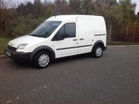 FORD TRANSIT CONNECT LWB TWIN SIDE DOORS