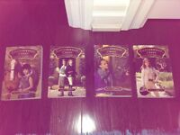 The first 4 books of the series canterwood crest