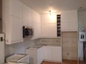 Portes de cuisines, façade de tiroirs et panneau IKEA
