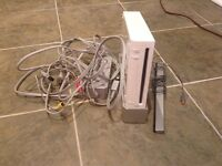 Wii console with extras!!!!!!