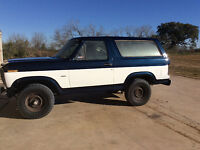 1985 bronco body only