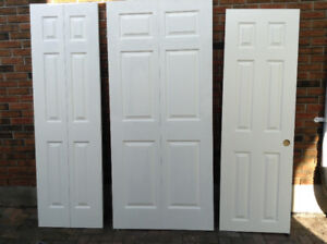 Closet and exterior doors
