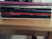 Various artists rock guitar books x 10