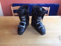 Black Nordica Men's Ski Boots Size 8