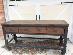 Multi use restoration hardware style table