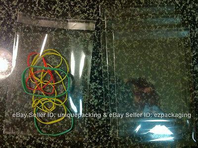 Cellophane Cello Bags - 100 PCS 4x6 Inches Clear Resealable Cello Cellophane Bags