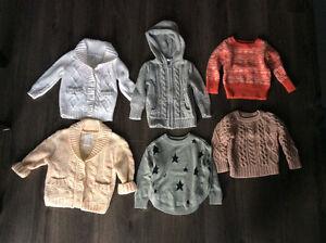 Girls cardigan sweaters
