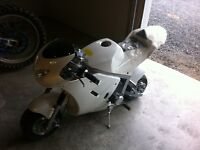Over size pocket bike 50cc