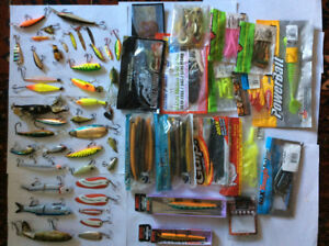 Excellent fishing lures