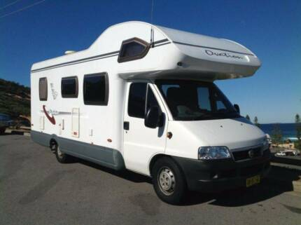A'VAN FIAT DUCATO MOTORHOME LOW KMS Leppington Camden Area Preview